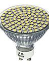 1pcs 4w 80smd 2835 400-450lm led lumina reflectoarelor gu10 / mr16 gu5.3 rece / cald alb led reflector ac220-240v