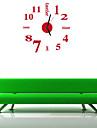 Modern/Contemporan / Birou / Afacere Case / Familie / Școală/Absolvire Ceas de perete,Rotund / Noutate Acrilic / Sticlă 35.5CM/14inch