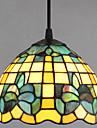 Lampe suspendue ,  Tiffany Retro Peintures Fonctionnalite for Style mini Metal Salle de sejour Entree
