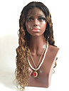 1b / 30 avant de dentelle perruques de cheveux humains sans colle avec des cheveux de bebe pour les femmes noires de chapeau brun moyen