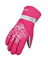 Gants de ski Doigt complet Gants hivernaux Femme Gants sport Garder au chaud Etanche Cyclisme/Velo Escalade Ski Moto PolyurethaneGants de