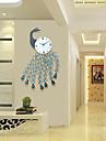 Moderne/Contemporain Niches Horloge murale,Autres Acrylique / Metal 93*56cm Interieur Horloge