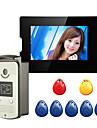 200W 120 CMOS systeme sonnette Sans fil Sonnette video Multifamilial