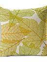 1 pcs Polyester Housse de coussin,Toile Moderne/Contemporain / Decoratif