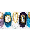 100 Manucure De oration strass Perles Maquillage cosmetique Manucure Design