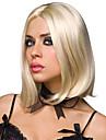bleach cheveux couleur blond perruques synthetiques moyennes courtes droites pour les femmes