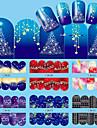 12 nagel konst Sticker Vatten Transfer Dekaler skönhet Kosmetisk nagel konst Design