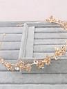 Women\'s Imitation Pearl Headpiece-Wedding Special Occasion Casual Outdoor Tiaras 1 Piece