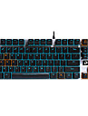 clavier mecanique USB axe noir retro-eclairage monochromatique Dare-u