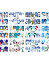 12 designs ,12 different images Nail Sticker Art Autocollants de transfert de l\'eau Maquillage cosmetique Nail Art Design