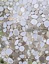 Geometrică Conteporan Geam Film,PVC a vinyl Material fereastra de decorare