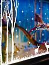 Noel Bande dessinee Vacances Stickers muraux Stickers avion Stickers muraux decoratifs Materiel Amovible RepositionableDecoration