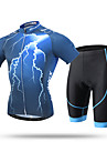 XINTOWN® Maillot et Cuissard de Cyclisme Homme Manches courtes VeloRespirable / Sechage rapide / Resistant aux ultraviolets /