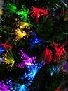 10m couleur bleu / blanc / arc-100 dirige guirlande lumineuse de fee de Noel (100-220V)