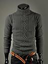 Bărbați Casul/Zilnic Vintage Simplu(ă) Regular Plover-Mată Manșon Lung Guler Pe Gât Lână Iarnă Gros Strech
