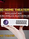 HTP® 800WM DLP Videoprojecteur de Cinema WXGA (1280x800) 400 Lumens LED 4:3/16:9