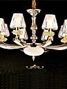 Lustre ,  Contemporain Retro Dore Fonctionnalite for Cristal LED MetalSalle de sejour Chambre a coucher Salle a manger Bureau/Bureau de