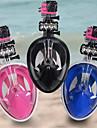 Snorkelmask Snorkelset Dykmasker Säkerhet Gear180° Torrdräkt – överdel Heltäckande ansiktsmasker Säkerhetsutrustning Inga verktyg behövs