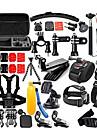 Accessoires pour GoPro,Insert Antibuee Caisson Camera Sportive Etui de protection Monopied Grande Fixation Ventouse Camera Sportive Avec