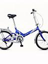 Hopfällbar Cykel Cykelsport 7 Hastighet 20 tum Unisex Vuxen Herr Kvinnors V-broms Vanlig Viker Vanlig Stål Röd Gul Blå Vit