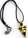 Mer accessoarer Inspirerad av Yu-Gi-Oh Cosplay Animé Cosplay Accessoarer Halsband Guld Legering
