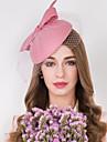 Vrouwen Tule Wol Net Helm-Bruiloft Speciale gelegenheden Informeel Fascinators Hoeden 1 Stuk