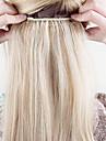 """16 """"-24"""" epais pleins d\'une seule piece 5 clips de cheveux humains prolongement 120g"""