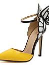 Damă Tocuri Primăvară Vară Toamnă Iarnă Imitație de Piele Birou & Carieră Rochie Casual Party & Seară Toc Stiletto Funde Cataramă Decupat