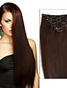 fullt huvud klipp i människohår extensions.70grams&120 gram vikt (7st / set&8st / set) silkeslen raka brasilianska