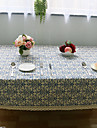 Andra Blom Dukar , Linne Material Dinner Decor Favor / Heminredning / Hotel Dining Table / Wedding Banquet Dinner / Tabell Dceoration