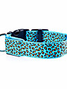 Chat / Chien Colliers Lampe LED / Ajustable/Reglable / Electronique/Electrique / Rechargeable LeopardRouge / Vert / Bleu / Jaune / Violet