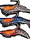 4 st Mjukt bete / Fiskbete Räka / mjuka Jerkbaits Slumpmässig färg 3 g Uns mm tum,Mjuk plast Sjöfiske / Färskvatten Fiske