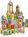 Jouet Educatif Pour cadeau Blocs de Construction Maquette & Jeu de Construction Architecture ABS 2 a 4 ans 5 a 7 ans Arc-en-ciel Jouets