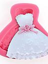 8.5cm×7cm×1.7cm bakformen för Cake / för Ice / för choklad Silikon DIY / Hög kvalitet / Teflonbehandlad / Miljövänlig