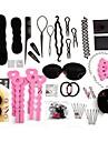 Forme de clip Elastique & Noeud a Cheveux Bandeaux Autres Decoration Leger Noir Pour Cheveux Traites Chimiquement Sec Normal Huileux other