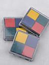 4cm x 4cm fyra färger DIY scrapbooking hantverk bläck pad