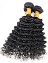 Vente en gros de tissus naturels noirs naturels perruens perruens perruques de qualite superieure 3pcs / lot 8-26inch.