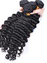 Tissages de cheveux humains Cheveux Bresiliens Ondulation profonde tissages de cheveux