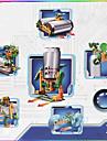 Gadgets Energie Solaire Nouveaux Jouets Vert Jaune ABS