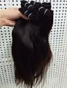 Tissages de cheveux humains Cheveux Bresiliens Droit 18 Mois 4 Pieces tissages de cheveux