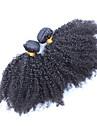 Human Hår vävar Mongoliskt hår Sexigt Lockigt hår väver