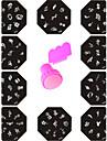 11 Abstrait Tampons Ongles  Modele d\'image Plaques Pochoir