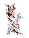 #(5) Tatouages Autocollants Series de totem Motif ImpermeableHomme Femelle Adolescent Tatouage Temporaire Tatouages temporaires
