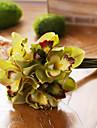 7 Gren Silke Magnolia Bordsblomma Konstgjorda blommor 22CM
