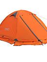FLYTOP 2 personnes Tente Double Une piece Tente de camping >3000mm Oxford PVCResistant a l\'humidite Respirabilite Etanche Bonne