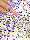 1set Nail Art Decoration Strass Pearls makeup Kosmetisk Nail Art Design