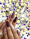 1pack Nail Art-dekoration Strasspärlor makeup Kosmetisk Nail Art-design