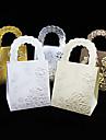 25 Piesă/Set Favor Holder-În Formă de Cub Hârtie cărți de masă Cutii de Savoare Nepersonalizat