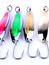 """1 st Metallbete Metallbete Blandade färger 142 g/1/3 > 1 Uns mm/6-1/2"""" tum,Metall Kastfiske Andra Generellt fiske"""