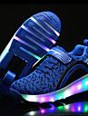 Fille-Exterieure Decontracte Sport-Noir Bleu Rose-Talon Bas-Confort-Chaussures d\'Athletisme-Tulle